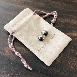 David Yurman Chatelaine Black Onyx Earrings
